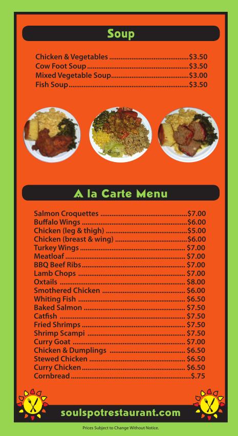 Soul Food And Caribbean Restaurant Brooklyn Ny